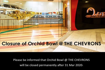 Closure of the Orchid Bowl bowling centre at THE CHEVRONS clubhouse